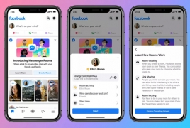 Facebook unveils Messenger Rooms for 50-person video calls