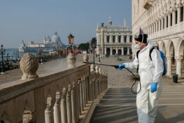 Italy's daily coronavirus death toll lowest since March 19