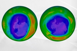 Largest-ever hole in the ozone layer above Arctic closes: scientists