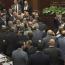 Armenia lawmakers scuffle in parliament