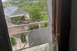 Azerbaijani troops fire on Armenian village, damage houses