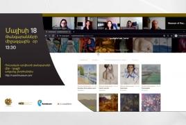 Արվեստը՝ օնլայն․  «Ռոստելեկոմի» աջակցությամբ Ռուսական արվեստի թանգարանը կայք ունի
