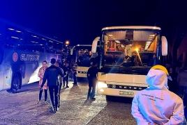 ՀՀ 168 քաղաքացի Թուրքիայից Հայաստան է տեղափոխվել