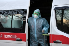 Cases mount in Russia, as concerns grow over safety of health workers