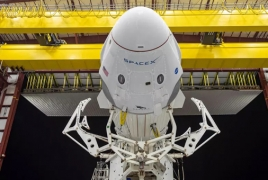 SpaceX set for historic launch of capsule carrying astronauts to ISS