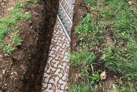 Perfectly preserved ancient Roman mosaic floor discovered in Italy