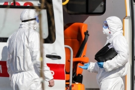 Russia's coronavirus infections near 400,000