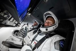 Պատմական․ SpaceX-ը մարդ է դուրս բերել տիեզերք՝ դառնալով նման 1-ին մասնավոր ընկերությունը
