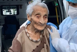 101-year-old woman fights coronavirus in Armenia