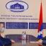 ՀՀ ԱԽ քարտուղարն ու Արցախի ԱԳ նախարարը քննարկել են անվտանգային քաղաքականությանն առնչվող հարցեր