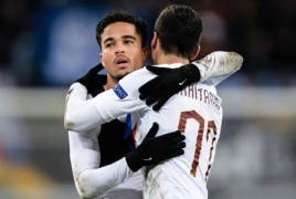 Justin Kluivert wants Henrikh Mkhitaryan to stay at Roma