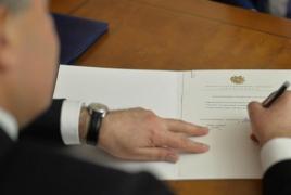 Նախագահը չի ստորագրի ՍԴ մասին օրենքում փոփոխությունները
