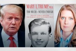 «Ինչպես ընտանիքս ստեղծեց աշխարհի ամենավտանգավոր մարդուն»․ Թրամփի զարմուհու գիրքն ԱՄՆ-ում լույս չի տեսնի