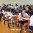 Դիմորդները քննություն են հանձնում մաթեմատիկայից