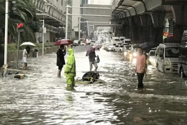Wuhan residents told to stay indoors again after record rainfall