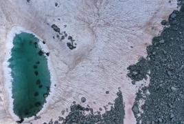 Վարդագույն սառույց՝ Իտալիայի Ալպերում․ Այն կարող է ավելի արագ հալչել