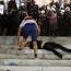 Demonstrators demand Serbian President resign after lockdown issued