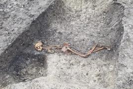 Հնագետները երկաթի դարում սպանության զոհ դարձած մարդու կմախք են գտել