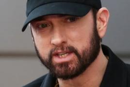Eminem slams non-mask wearers on fresh rap track