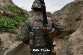 Azerbaijan resumes shelling of Armenian positions