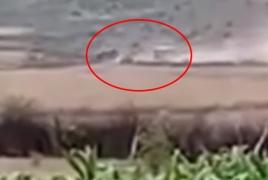 Azerbaijani villager's video shows movement of equipment near border