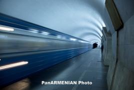 Հուլիսի 14-ից Երևանի մետրոյի գնացքները կաշխատեն 8,5-9 րոպեն մեկ