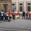 Армяне в Мюнхене провели акцию против азербайджанской агрессии