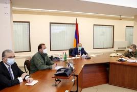 Пашинян: Должна быть создана система мониторинга за соблюдением режима прекращения огня