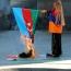 Ծիծեռնակաբերդում վառել են Ադրբեջանի դրոշը. Նկարահանման թույլտվություն չի եղել (Վիդեո)