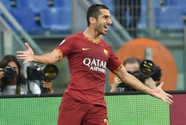 Mkhitaryan says Roma must focus on winning the Europa League
