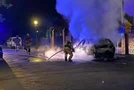 В Берлине сгорел автомобиль посольства Армении: Рассматривают версию поджога