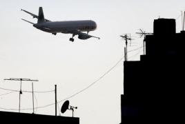 Eurocontrol: Armenia air traffic dropped almost 90% in July y/y