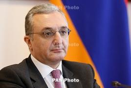 Armenian FM says Israel needs to halt weapon sales to Azerbaijan