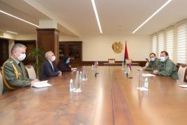 Տոնոյանն ու Իրանի դեսպանը խոսել են արդիական ԱԹՍ-ների դեմ պայքարի արդյունավետությունից