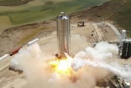 After Starship test fire Elon Musk expects 150m hop