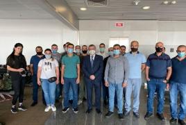 Հայ խաղաղապահների նոր խումբ է մեկնել Կոսովո