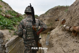 Armenia-Azerbaijan border situation remained calm overnight