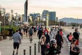 Spain records 98% drop in tourism