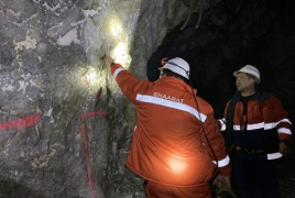 Chaarat produced 26,960 ounces of gold from Armenia mine