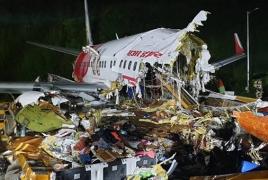 Հնդկաստանում 191 ուղևորով ինքնաթիռ է վթարվել․ 18 զոհ կա