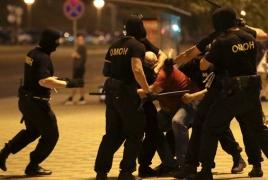 В Белоруссии сообщили о задержании около 3000 человек в ходе акций протеста