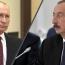 Prevention of escalation on the border is key, Putin tells Aliyev