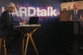 Փաշինյանը՝ BBC-ի եթերում․ Հայ-ադրբեջանական հարաբերությունների, կորոնավիրուսի դեմ պայքարի մասին