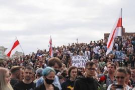 В Минске тысячи человек пришли проститься с погибшим на протестах