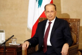 Lebanon President not ruling out peace talks with Israel