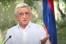 Serzh Sargsyan: Karabakh issue can be resolved through