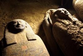 В Египте обнаружили 13 запечатанных саркофагов возрастом 2500 лет