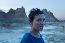 Վենետիկի կինոփառատոնի գլխավոր մրցանակը ստացել է «Քոչվորների հողը» ֆիլմը