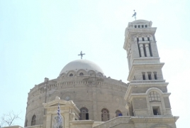 Armenian Foreign Minister visits Greek church in Cairo
