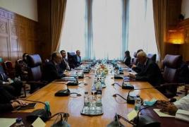 Глава МИД РА представил подходы Армении по Карабаху генсеку Лиги арабских государств